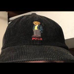 1990s Ralph Lauren Corduroy Teddy Bear Hat